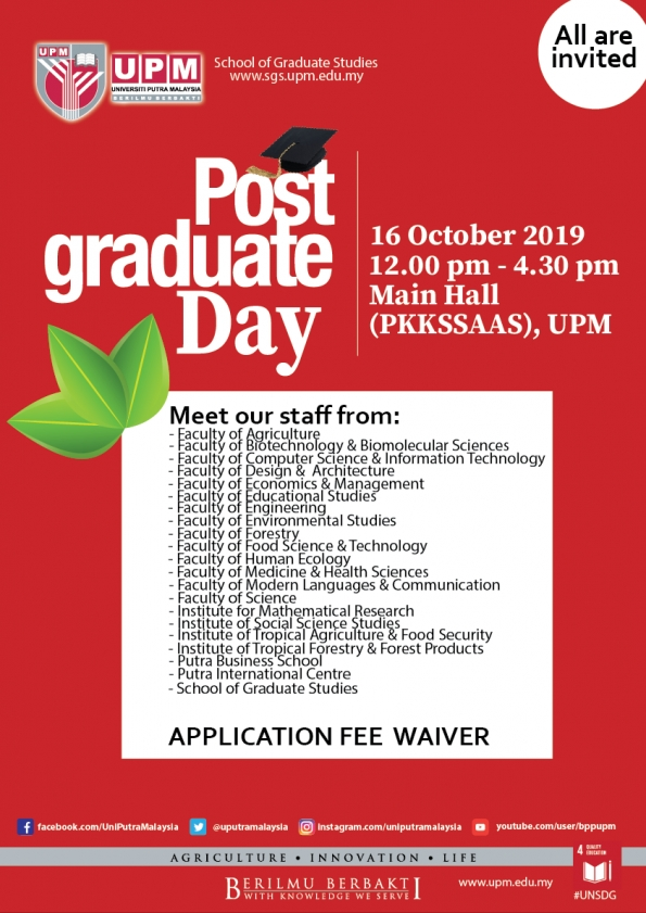 Post Graduate Open Day